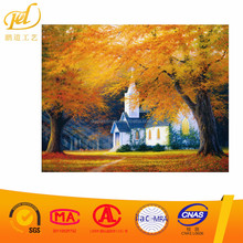 2017 new design wholesale Beautiful canvas modern landscape oil painting by numbers diy y72