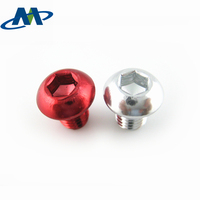 High Quality Aluminum Socket Head Cap Screws with Anodizing finish