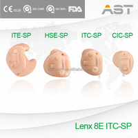 Lenx 8E power amplifier sound standard of personalized hearing aid ITE