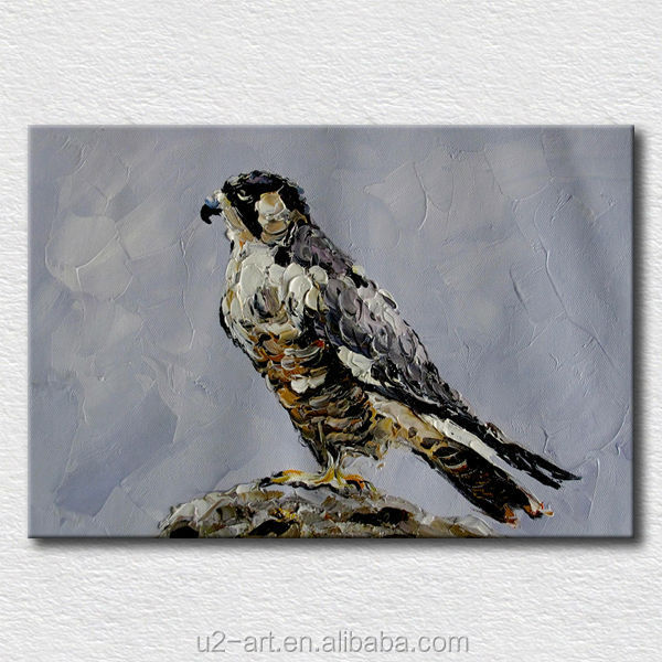 <strong>Decoration</strong> oil painting bird pictures for living room