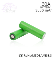 SONI VTC6 3000mAh 30A Max 35A Discharge 18650 High Drain Rate Battery Cells us18650vtc6 for Sony VTC6 Battery in Stock E Cig
