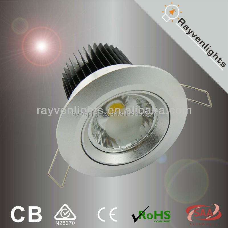 Hot sale 10w dimmable led lamp aluminum down light kit
