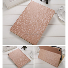 Honeycomb Bling Sparkling Design Luxury Smart Leather Case Stand Magnetic Case Cover for Apple iPad 5 6 Pro 9.7 inch Tablet