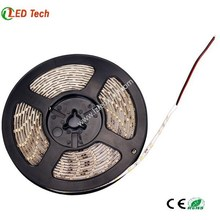 Factory DC24V/DC12V 6000K white flexible 3 years warranty with CE ROHS self adhesive color christmas led strip light outdoor use