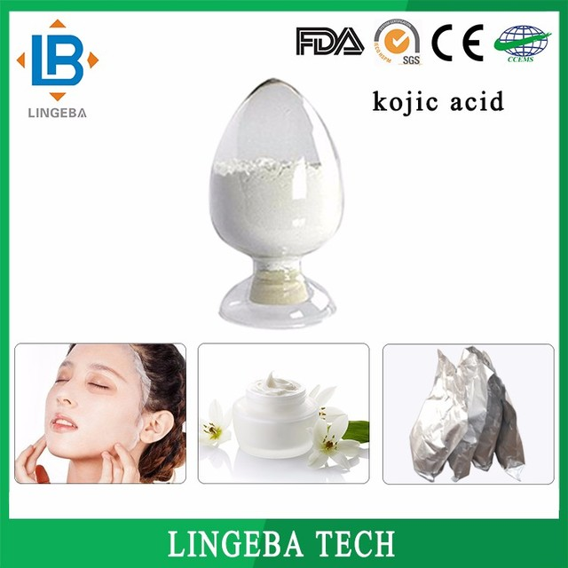 Cosmetics Raw Material China Manufacture Professional Chemical Kojic Acid