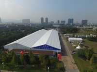 30*50m outdoor white marquee event tent for 1000 people