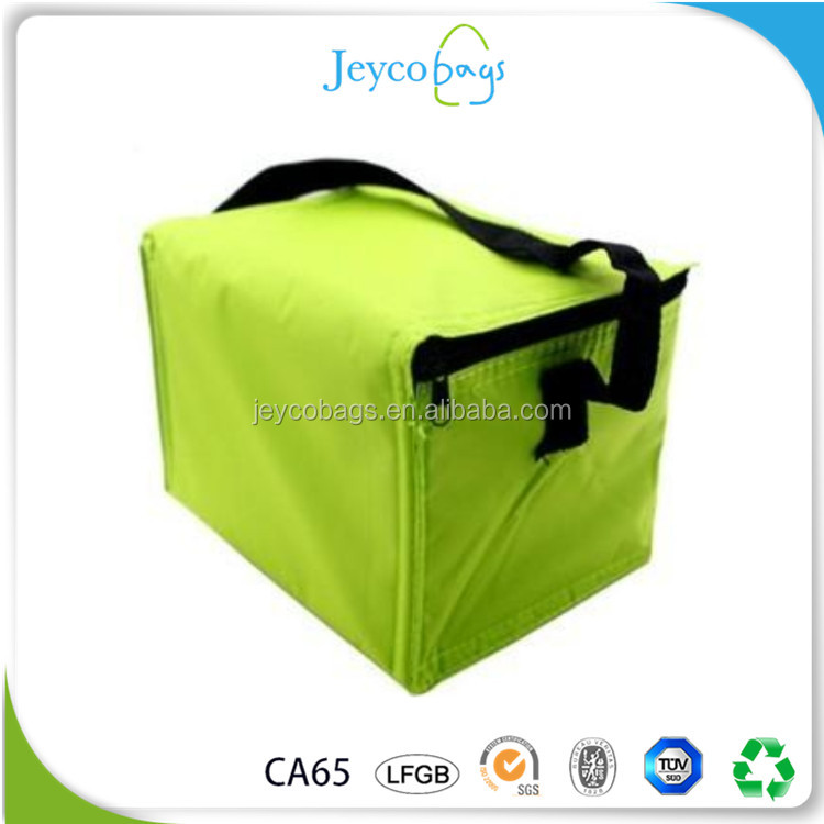 JEYCO BAGS 2017 new promotion walmart insulated cooler bag nonwoven aluminium foil fabric free sample