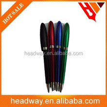 new design twist plastic stylus ball pen with clip