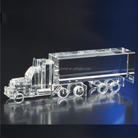 High quality crystal tank truck crysal truck model