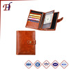 Wholesale Manufactory Price Fashion RFID Blocking Genuine Leather Passport Cover And Exclusive Travel PU Passport Holder Wallet