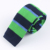 100% Polyester Striped Knitted Neck Ties