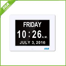 2016 directly supply mini digital clock for car with Non-Abbreviated Day & Month