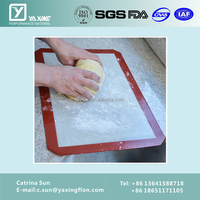 Most Wanted Products 2016 Premium Silicone Mat With Fibreglass Baking Sheet
