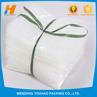 Comfortable and Soft Hot Stamping LDPE Material Protective Air Bubble Bag For Led Light Packaging