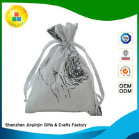 new design Ring spinning 100% cotton garment packing canvas tote bags