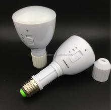 Hot sale Engergy Saving E27 4W LED Bulb White Rechargeable Emergency Light Flashlight 85-265V Bright