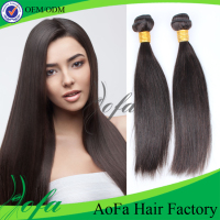 Wholesale price shiny hair virgin asian silky straight hair weave