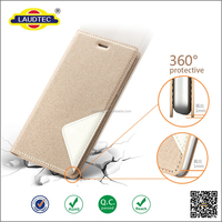 360 Degree Portected PU Leather Magnet Wallet Case for ipnone 6