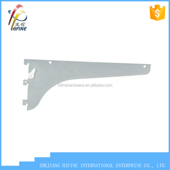 standards US type 187 shelf bracket for single slotted wall