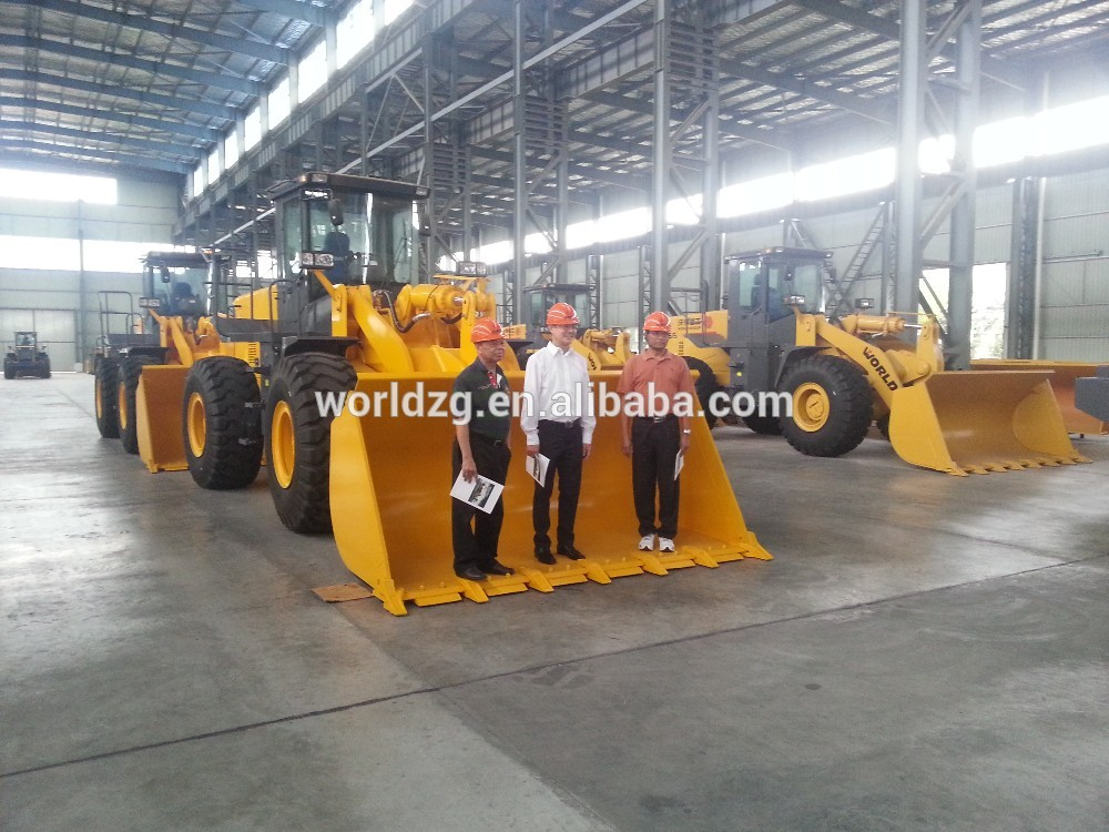 chinese constructiom machine pay loader 3m3 bucket wheel loader price for sale