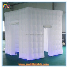 nylon air products inflatable bubble room , inflatable change room for shooting