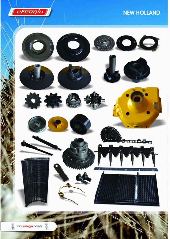 New holland combine harvester spare parts