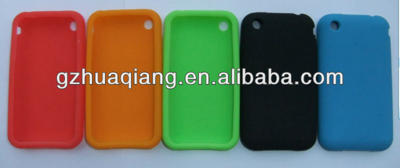 Silicon phone case for iphone3G,phone silicon case for iphone