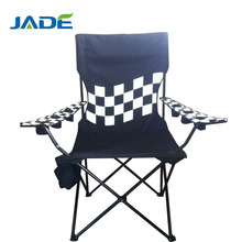 Best Thickened Steel Tube Folding Camping Chairs with Cup holder.600D fabric high quality camping chair with 600D carry bag.