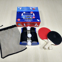 Anywhere Portable Table Tennis Racket Net
