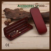 High quality hand carved wooden pens with customer logo engraved