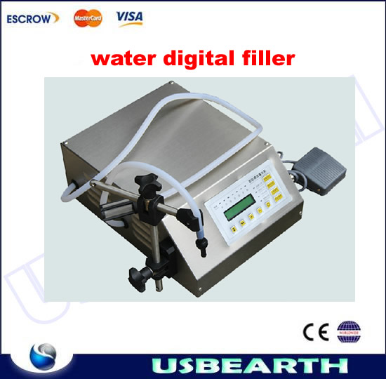 Electrical liquids filling machinery automatic pump sucker beverage oil packaging equipment