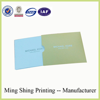 Factory sales OEM nice offet printing folder product catalogue