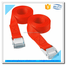 Polyester webbing Tie down strap with cam buckle