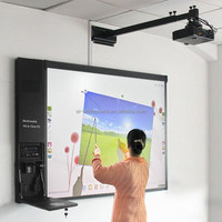 China USB connection Smart Interactive Whiteboard with Arabic English Spanish Russian language supported