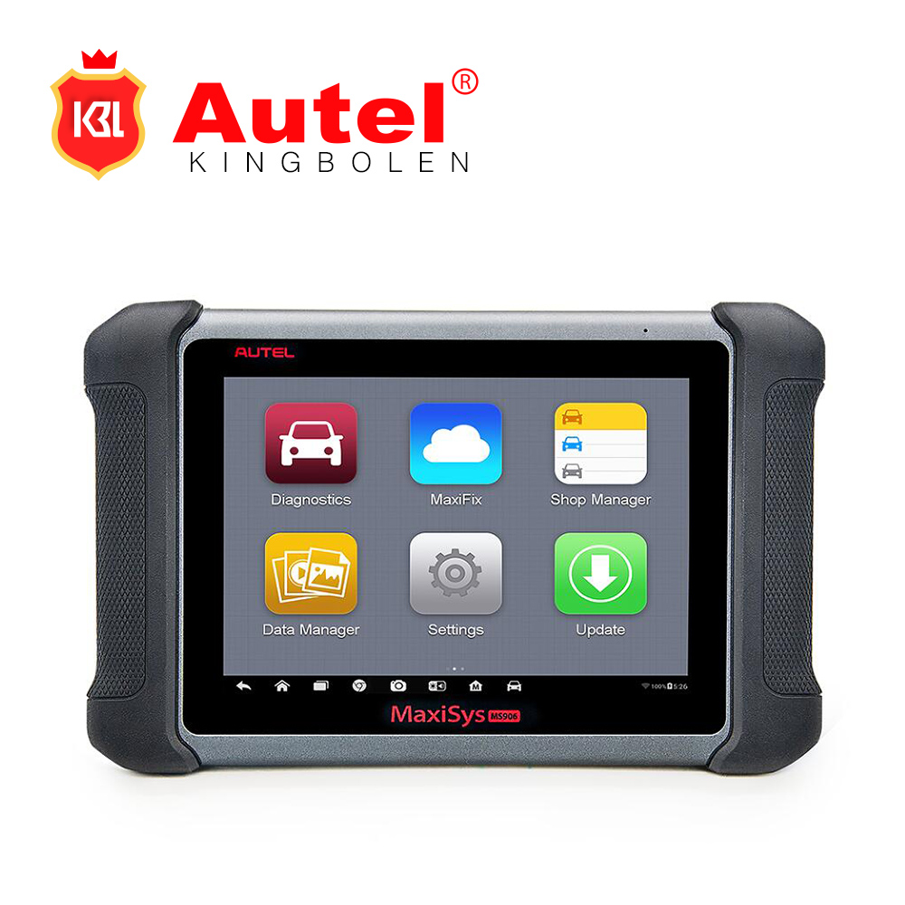 "AUTEL MaxiSYS MS906 8"" Android 4.0 BT/WIFI Auto Diagnostic Scanner Next Generation of Autel MaxiDAS DS708 Online Update MS906"