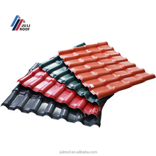 Promotion Spanish S Style Synthetipc Resin Plastic PVC Villa Roofing Tile For Sale
