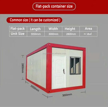 Factory Direct Supply Prefab Modular Container House/Home/Office