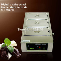 Top quality 12kgs capacity Stainless steel commercial chocolate melting machine, electric chocolate melting pot price
