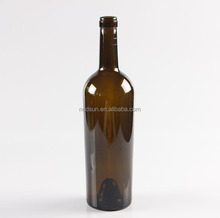 Customized handmade or machine empty wine bottles