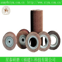 abrasive flap wheel for polishing steel