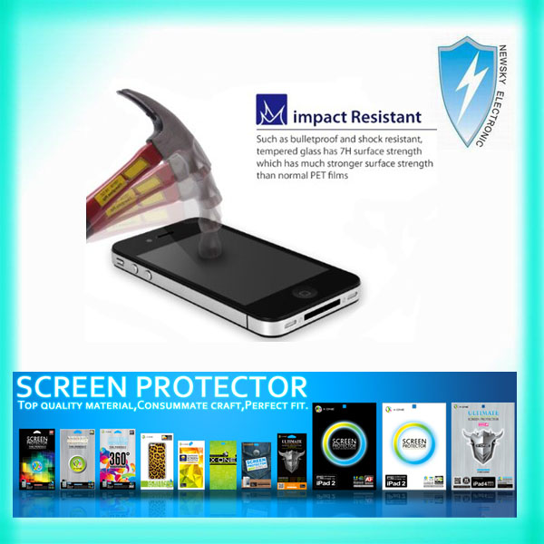 Chinese manufactory for Samsung Galaxy Note 10.1 tempered glass screen protector