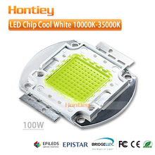 Hontiey cool white 10000-15000K high power 100W LED chip 45mil integrated package used in automobile decoratiin lamp series