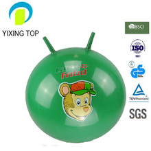 Inflatable PVC smiley ball Jumping Ball for kids play
