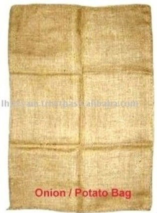 100% natural Jute Fiber Biodegradable Jute Potato Bag