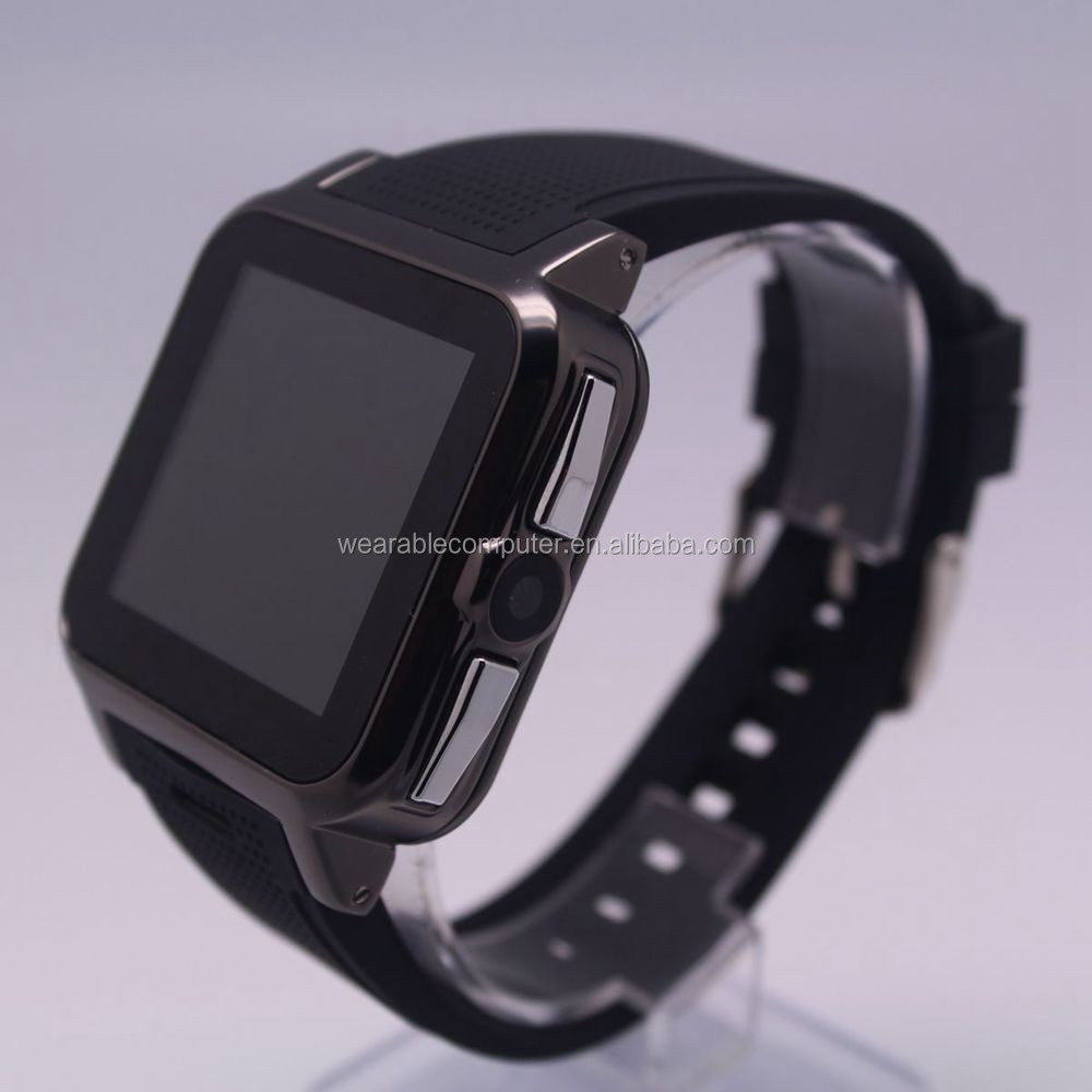 Factory 3G Band Android 4.0Smart Watch with 1.54'' Screen, Dual Core 1.3GHz CPU, Bluetooth 4.0, Wi-Fi, GPS