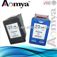 Aomya Sepcial price printers compatible ink cartridge for hp 21 22 21XL 22XL