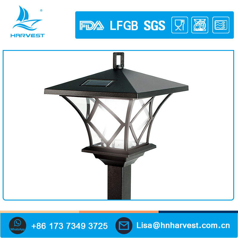 Lightahead Solar Lampost Warm White Solar Lantern Lamp Post Outdoor Garden Lamp