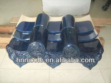 China Top 3 Roof Tile Manufacturer Offer High Quality Beatiful Blue Flat Roof Glazing