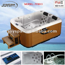 Mini home spa hot tube for 3 person used triangle hot tub spa