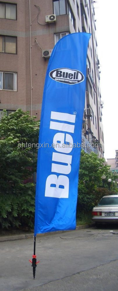 all kinds of advertising beach feather flag